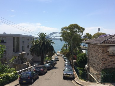 Sydney Harbour Bridge from Balmain