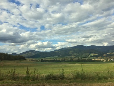 Countryside near Mount Buffalo National Park