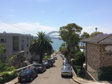 Sydney Harbour Bridge from Balmain